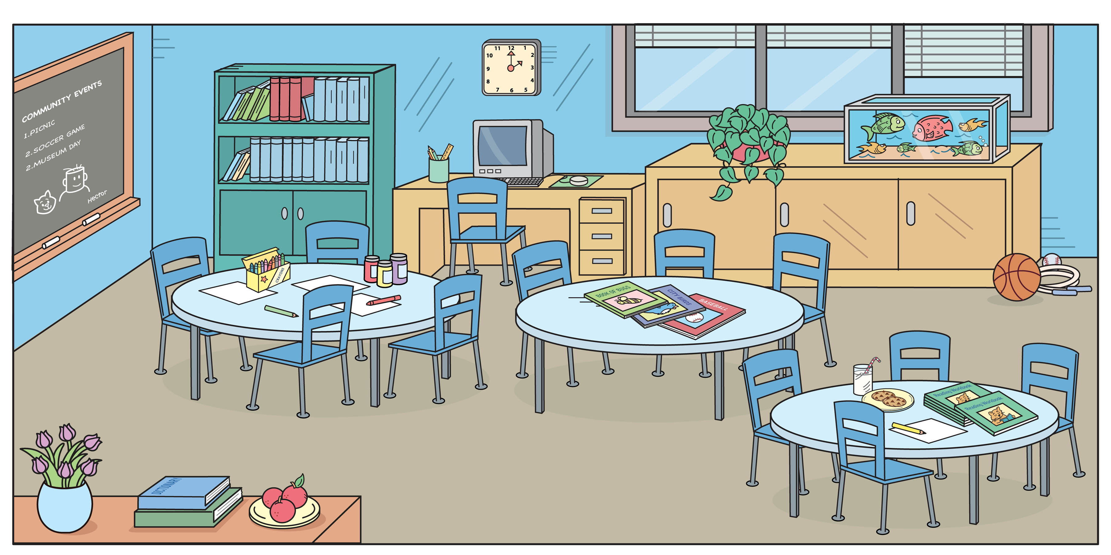 Cleaning Up Classroom Clipart Classroom For Can Do Class