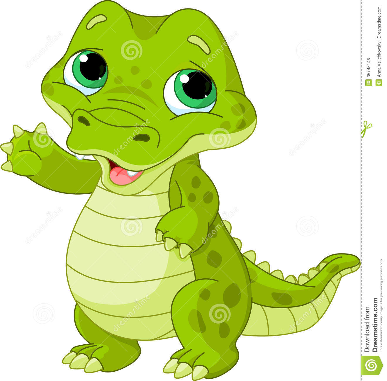 Cute Baby Alligator Clipart   Clipart Panda   Free Clipart Images