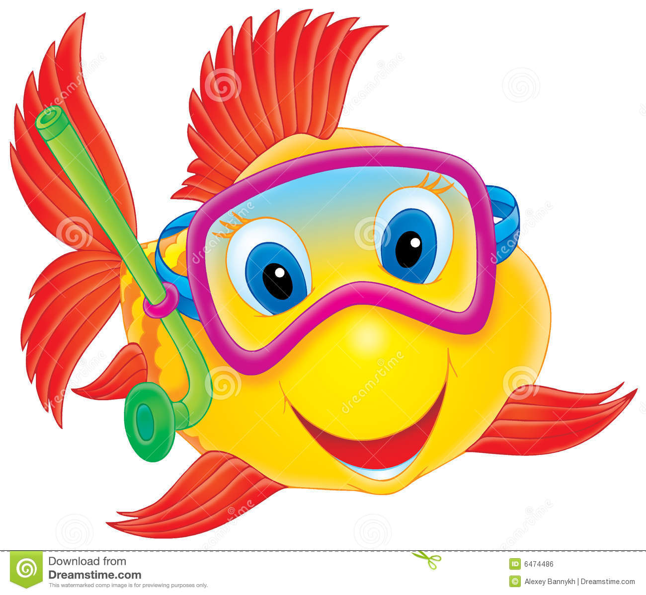 Cute Fish Clipart Coral Reef Fish Clipart Fish Diver 6474486 Jpg