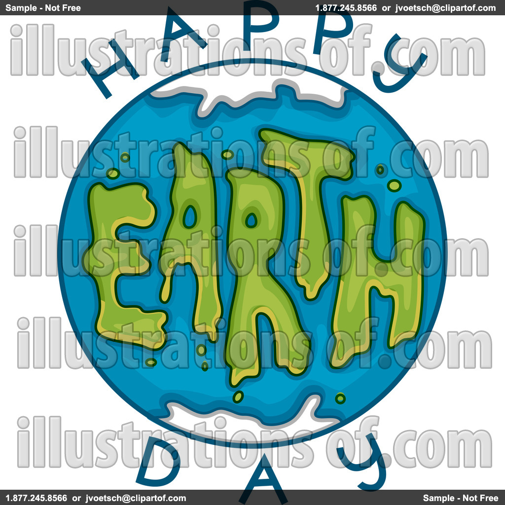 Earth Day Clip Art Royalty Free Rf Earth Day Clipart Illustration By