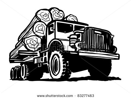 Go Back   Gallery For   Logging Truck Clip Art
