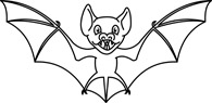 Real Bat Clipart Black And Whitehcreformexpert