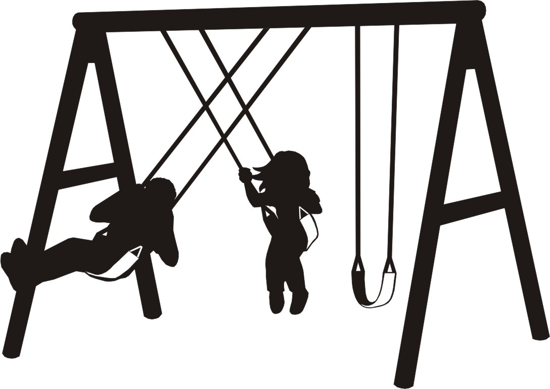 Swing set clipart suggest