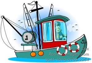Sport Fishing Boat Clip Art   Clipart Panda   Free Clipart Images