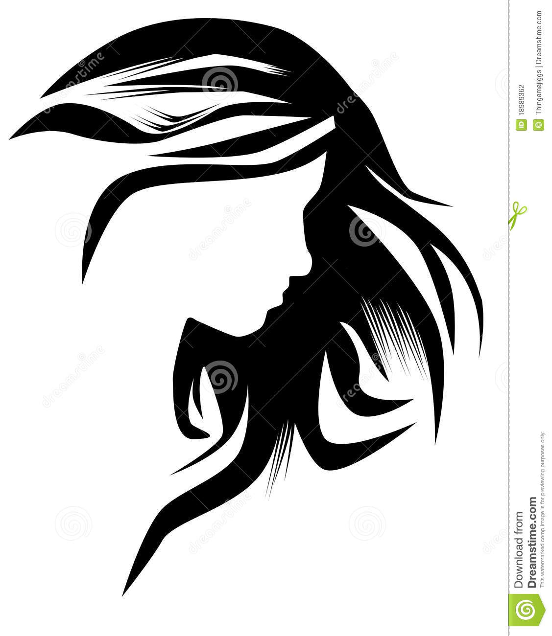 free clipart hairstyles - photo #41