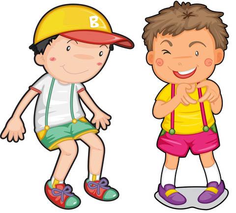 Best Friends Boys Clipart - Clipart Kid