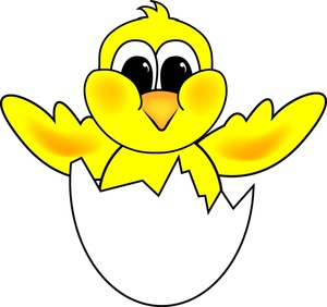 Chick Clip Art Images Chick Stock Photos   Clipart Chick Pictures