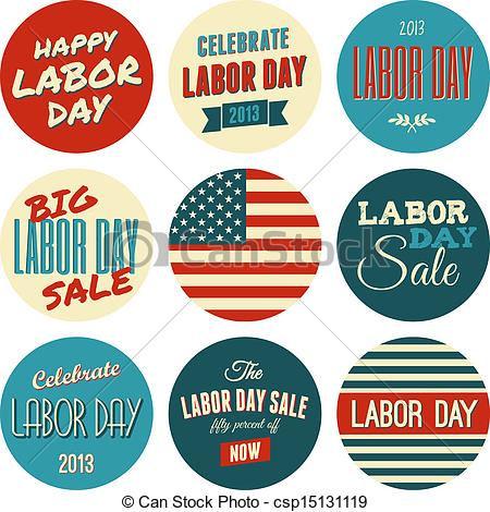 Vintage Labor Day Clipart - Clipart Kid