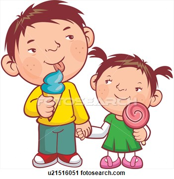 Clipart Of Child Women Kid Two People U21516051   Search Clip