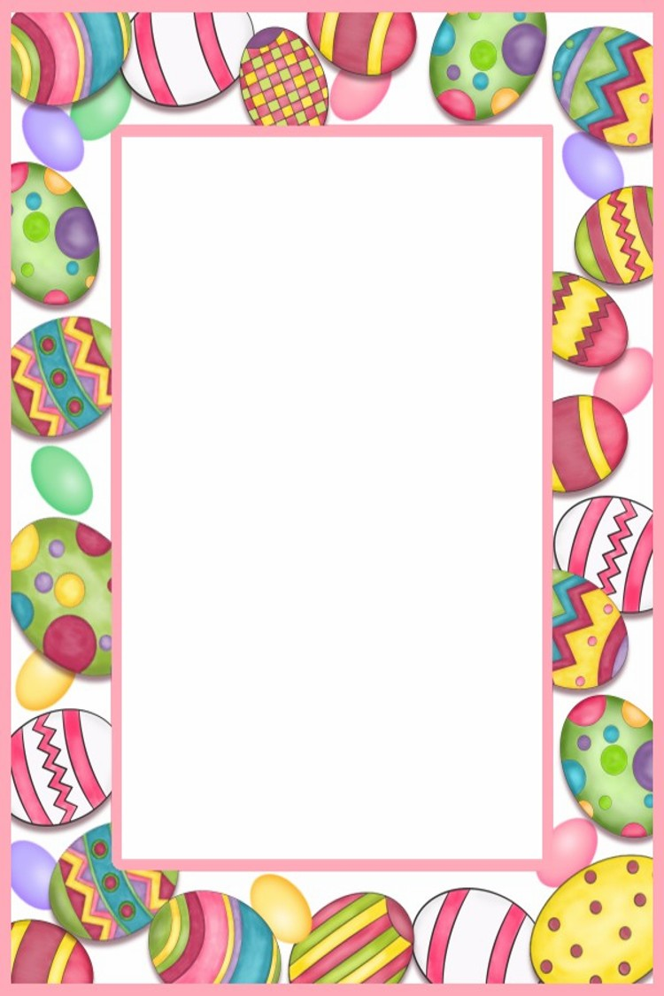 free clip art borders for easter - photo #8