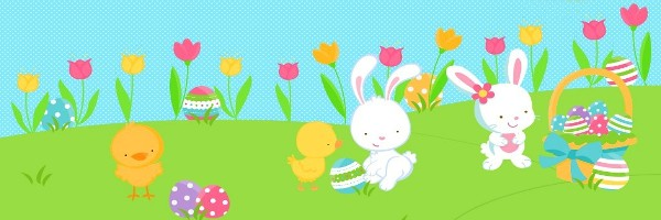 Easter border free vector download 5953 Free vector for