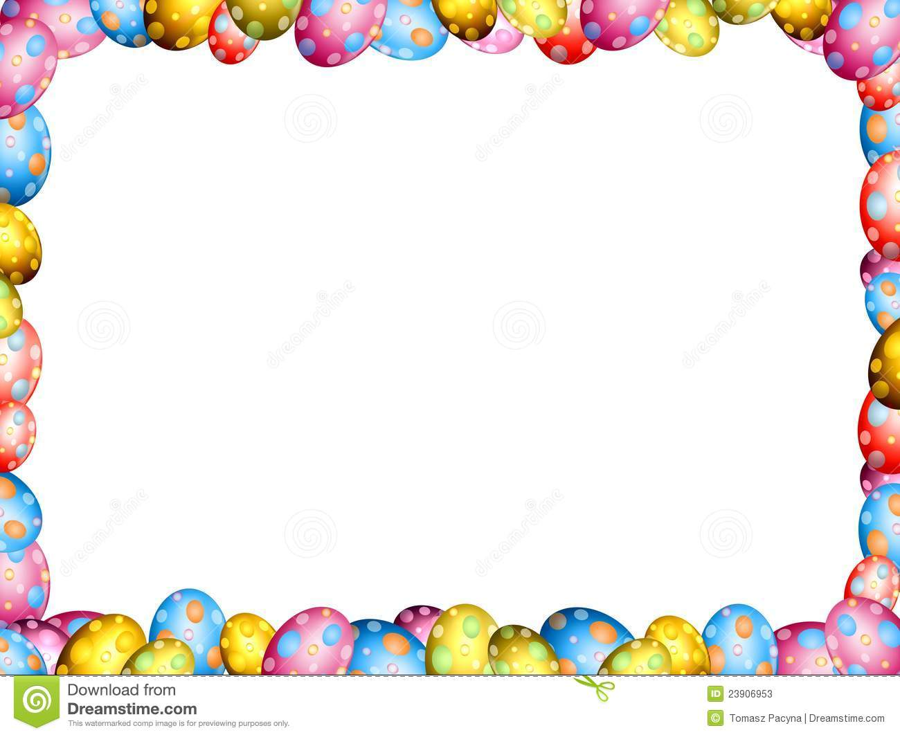 free clip art borders for easter - photo #39