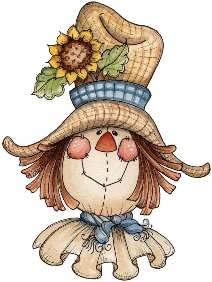 scarecrow hat clipart - photo #12