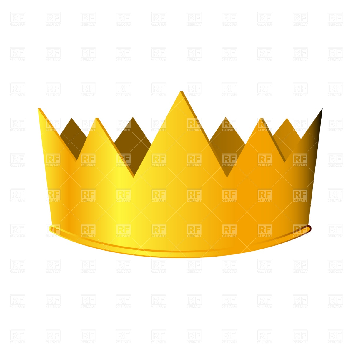 Golden Crown 1092 Objects Download Royalty Free Vector Clipart  Eps