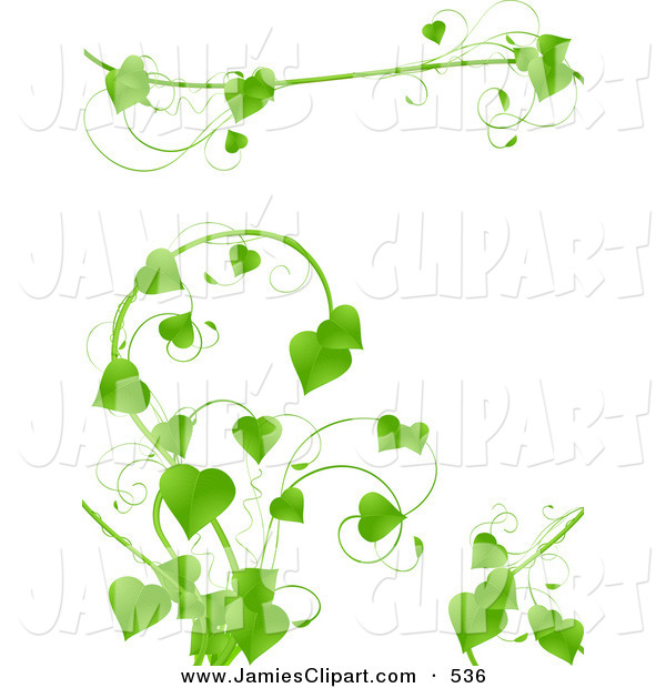 Green Leaves Vine Clip Art