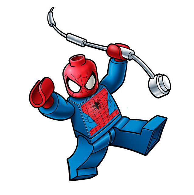 Lego Spiderman Logo   Flickr   Photo Sharing