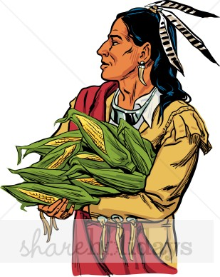 Thanksgiving Native American Clipart - Clipart Suggest