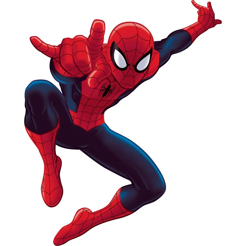 new giant ultimate spiderman wall decals spider man room stickers boys