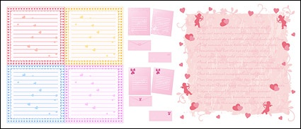 Report Browse   Objects   Writing Pads Heart Shaped