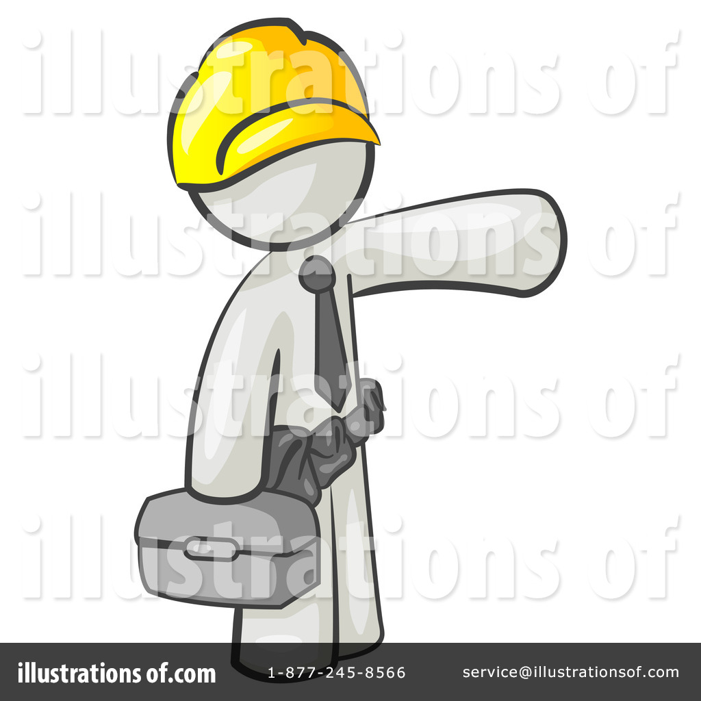Royalty Free  Rf  Construction Clipart Illustration By Leo Blanchette