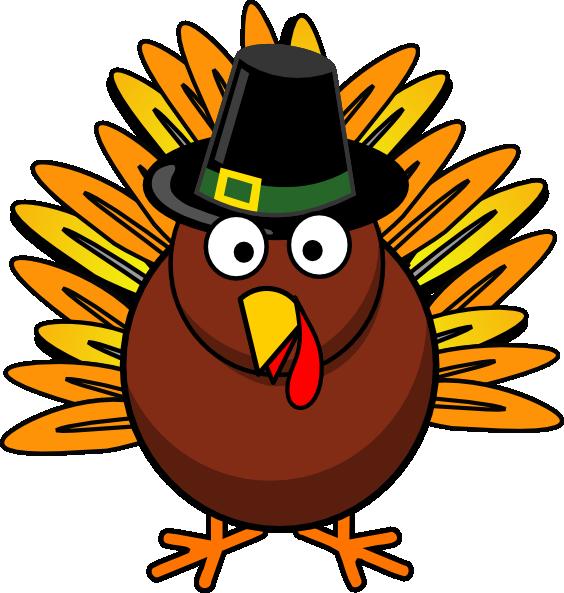 Free Clip Art for Turkeys