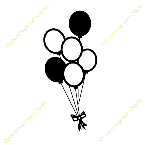 Balloons Clipart Black And White   Clipart Panda   Free Clipart Images