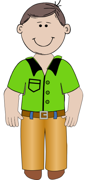 Cartoon Man Clipart - Clipart Kid