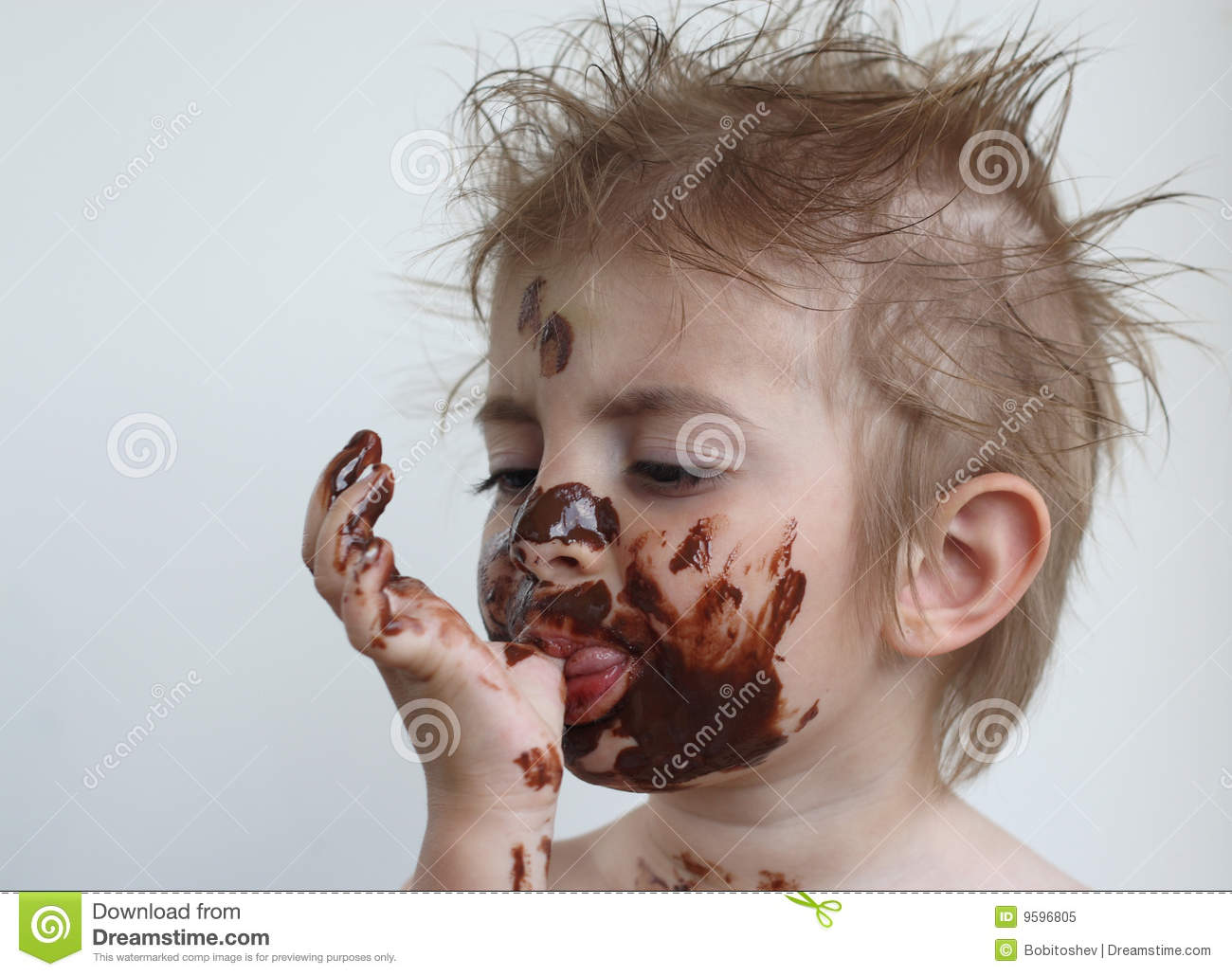 Girl Eating Chocolate Clipart - Clipart Kid
