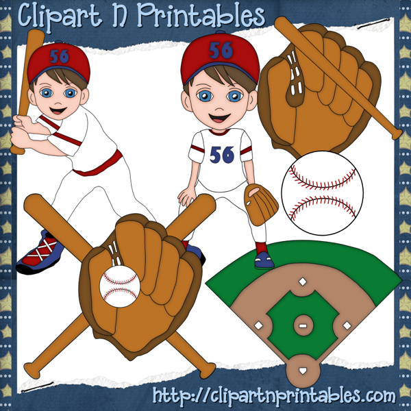 Home    Clipart Graphics    Baseball Boys Clipart