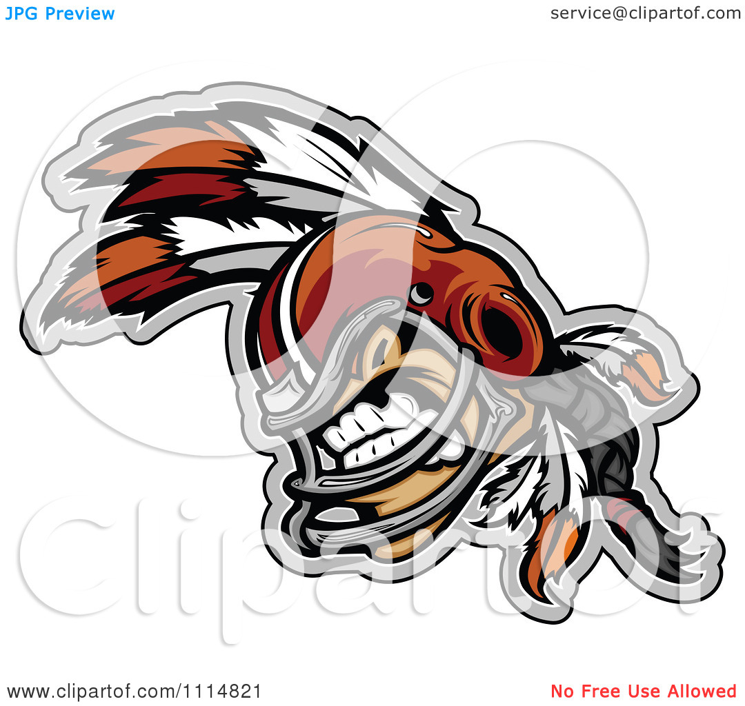 Indian Mascot Clipart Clipart Competitive Native