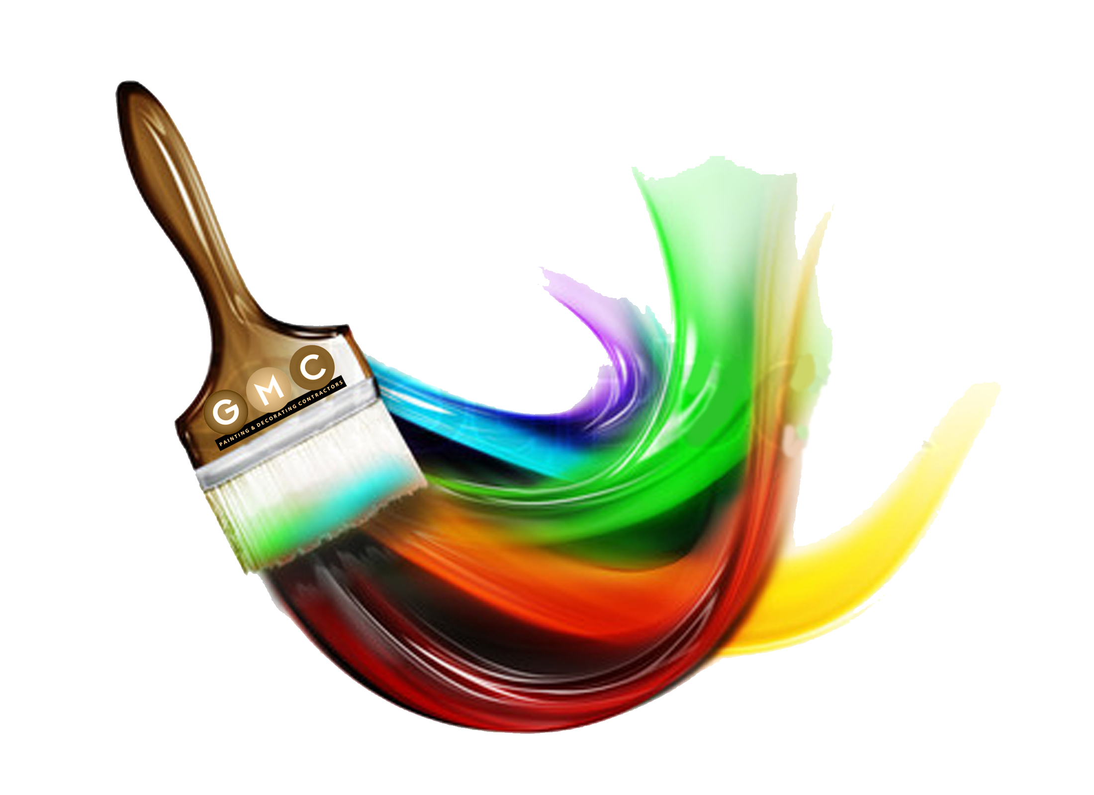 Paint Brushes With Paint On Them Paint Brush Png