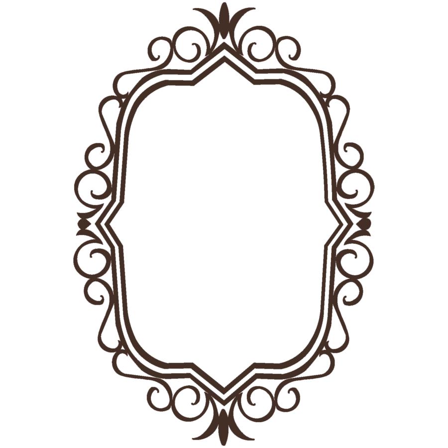 vintage frame clipart clipart suggest. Black Bedroom Furniture Sets. Home Design Ideas
