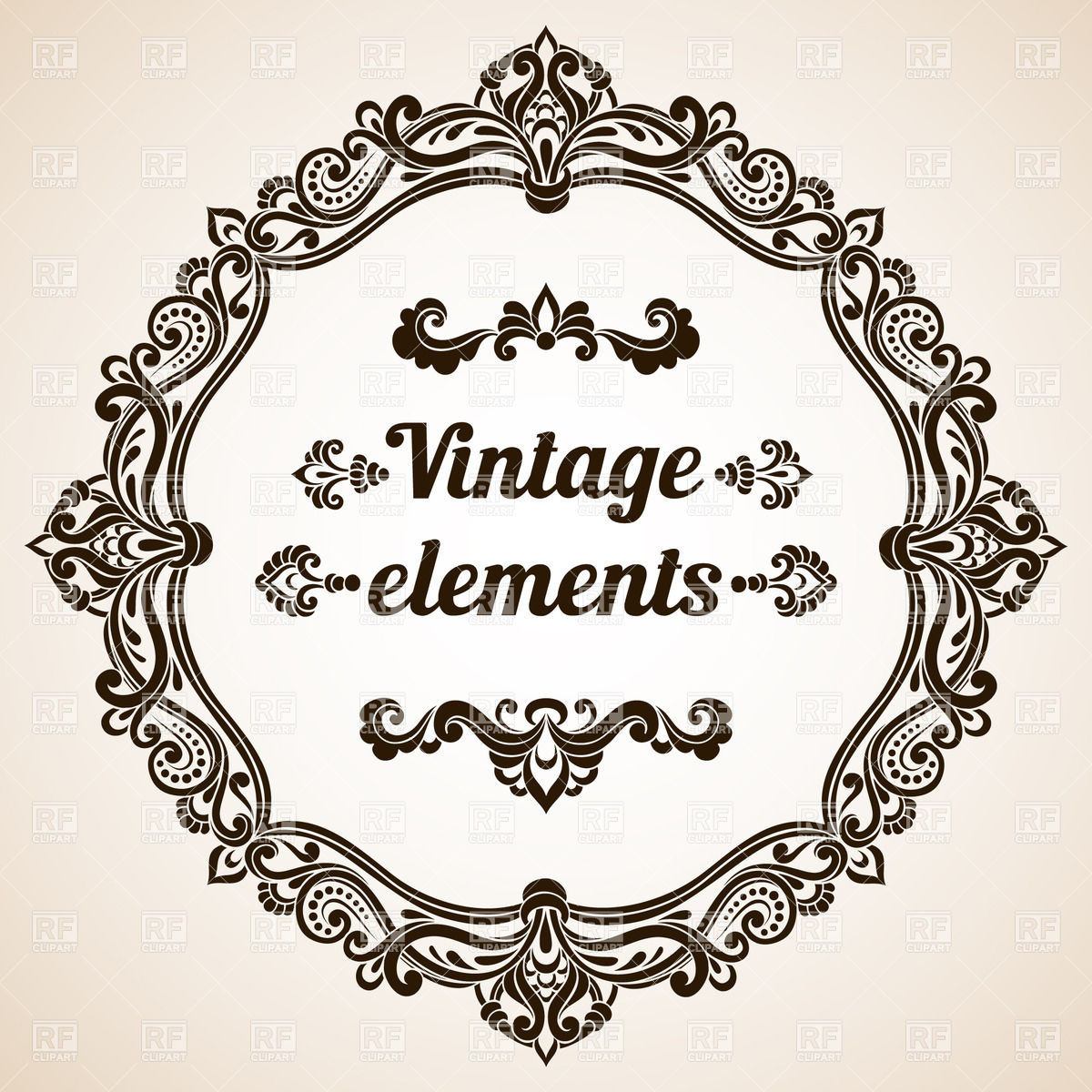 Vintage Frame Clipart - Clipart Suggest
