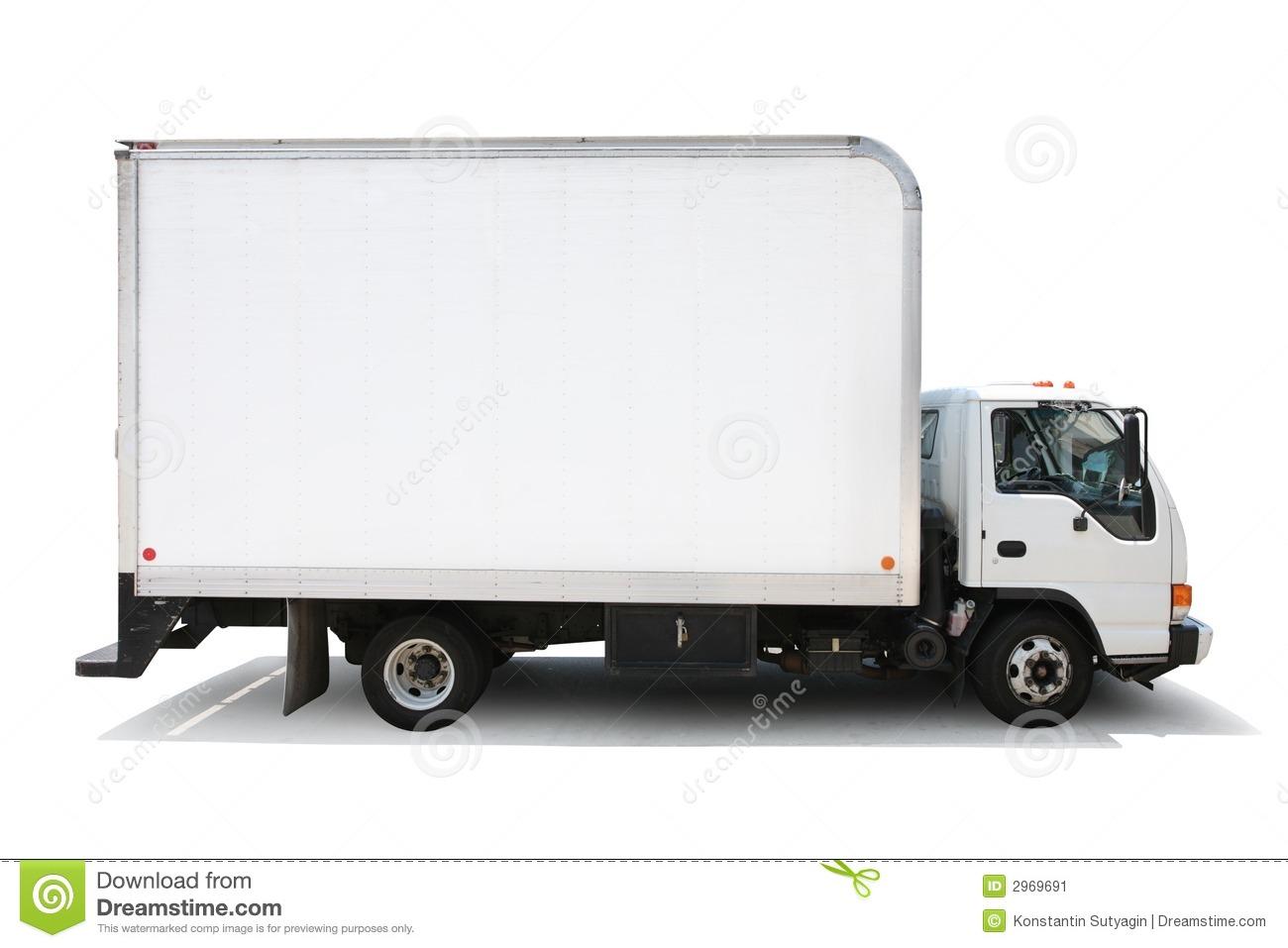 Clip Art Delivery Truck Clipart blank truck clipart kid caminh o de entrega isolado no fundo branco trajetos grampeamento