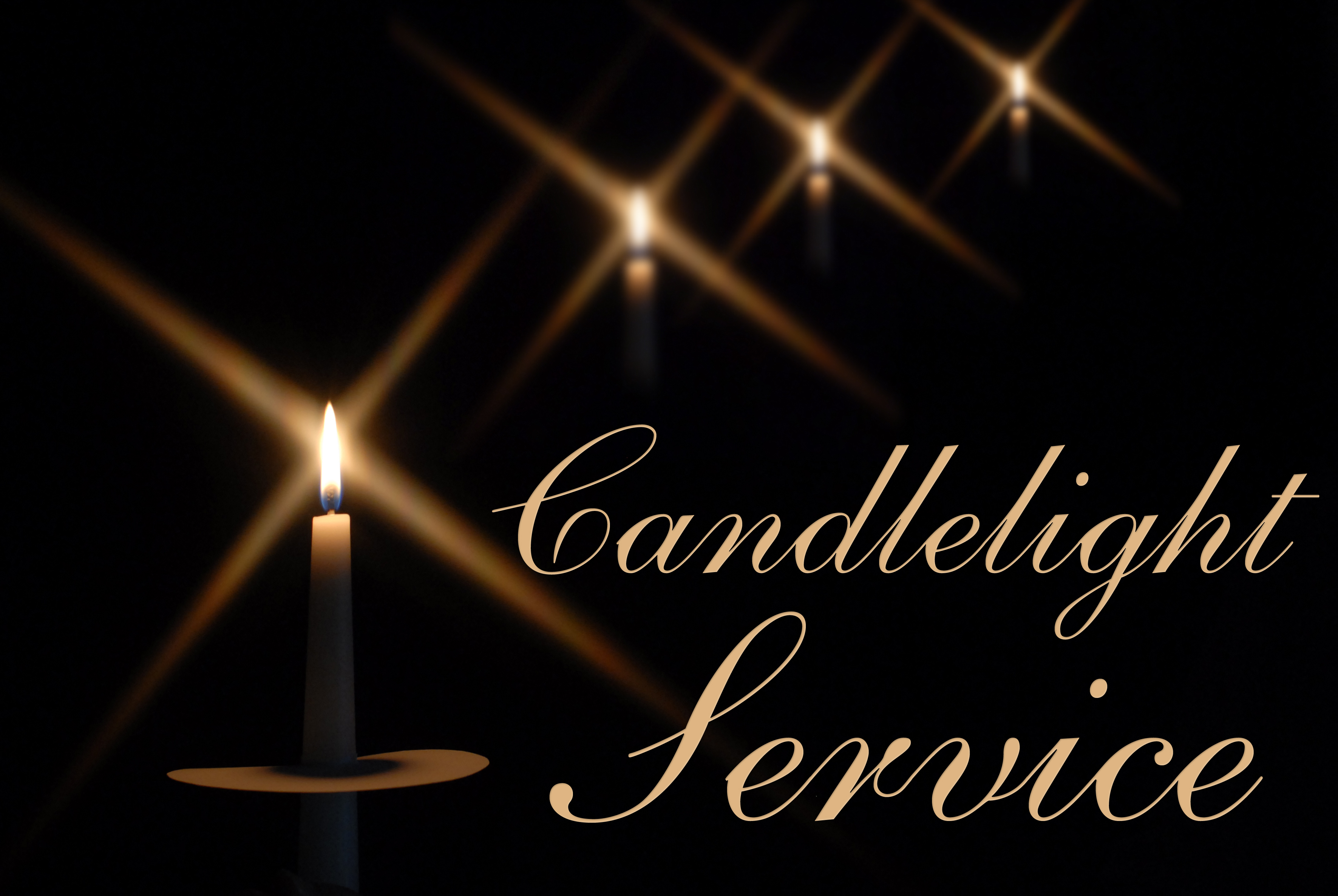 Christmas Eve Candlelight Communion Service   Wassail Party