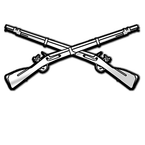 Crossed Guns Clipart - Clipart Kid