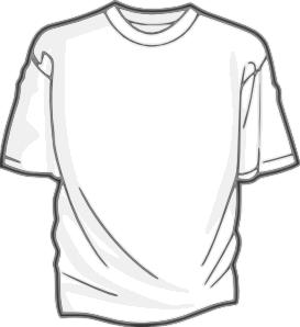 Digitalink Blank T Shirt Clip Art At Clker Com   Vector Clip Art