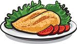 Grilled chicken clip art - photo#5