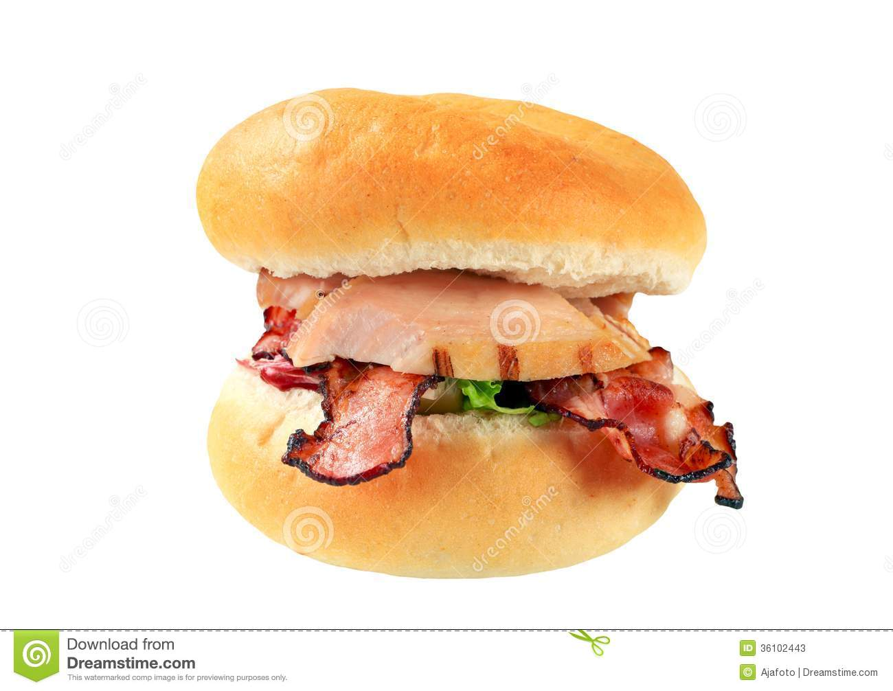 Grilled Chicken Sandwich Clipart Bread Bun With Grilled Chicken And