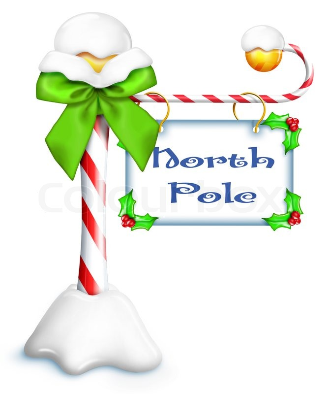 North Pole Sign Clipart Clip Art Picture