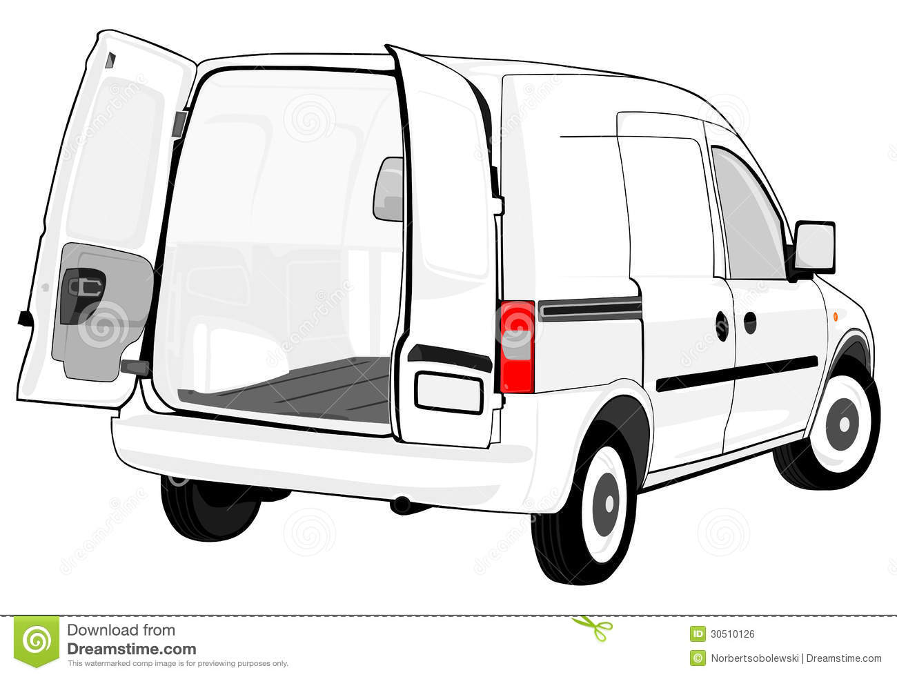 Blank Truck Clipart Clipart Suggest