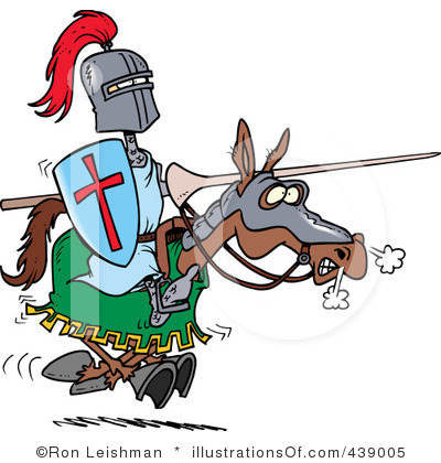 Royalty Free Knight Clipart Illustration 439005
