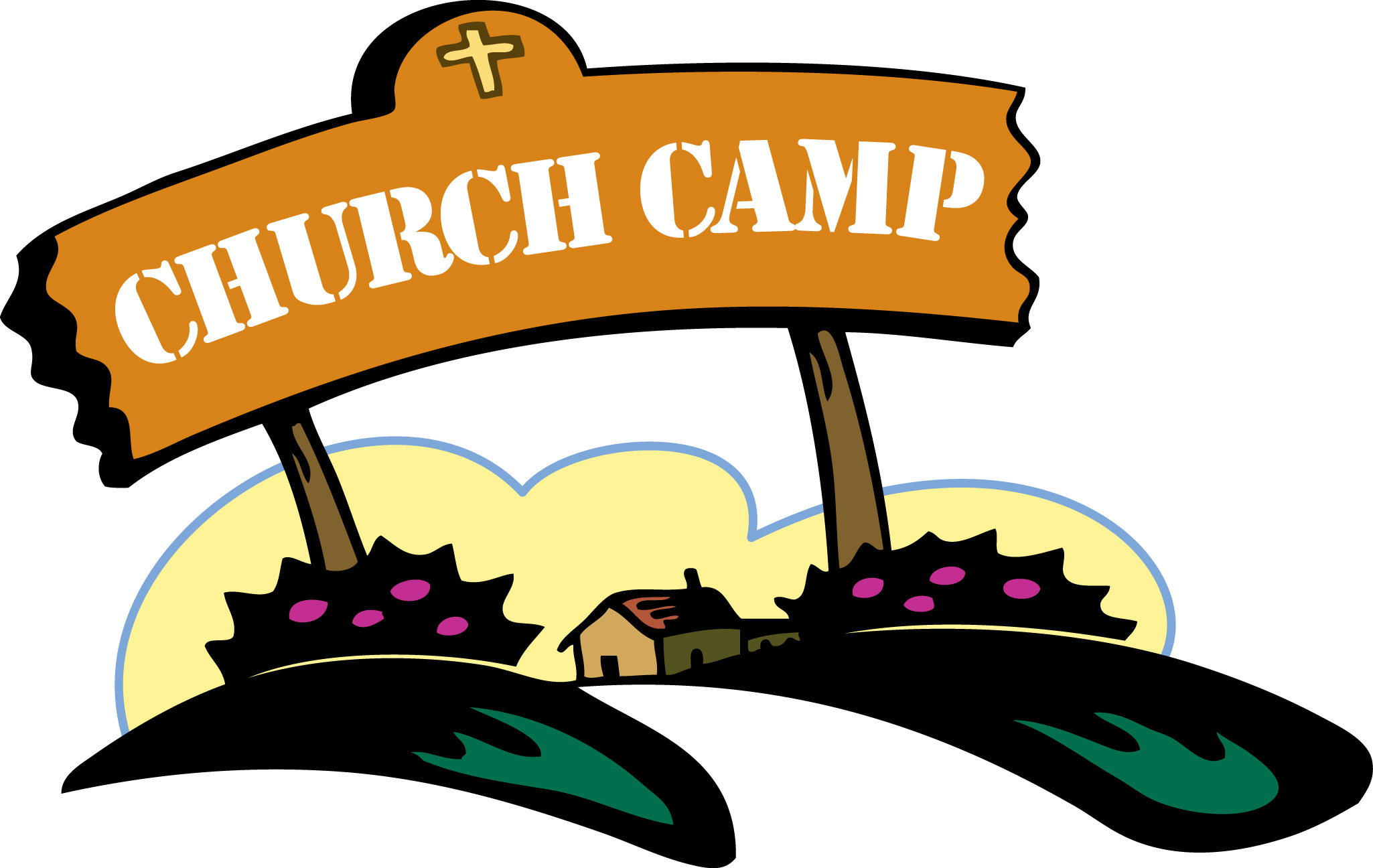There Is 35 Summer Church Frees All Used For Free Clipart