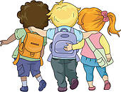 Walking Together Illustrations And Clipart