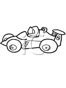 Auto Racing Beach Clipart On Clipart Picture Black And White Race Car