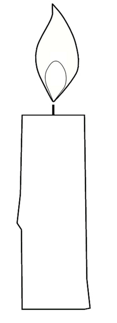 Candle Drawing Clipart - Clipart Suggest