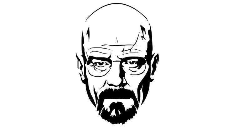 Breaking Bad   Estamparia   Pinterest   Walter White Stencil And