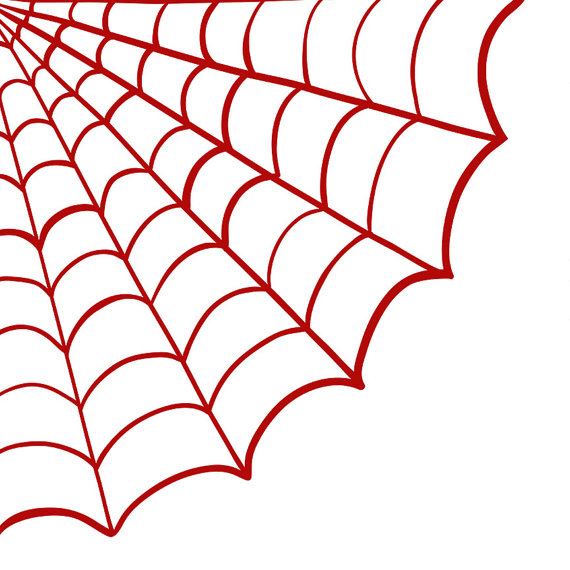 Spider-man Web Clipart - Clipart Kid