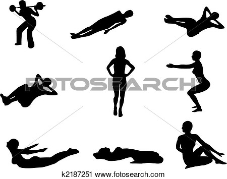 Clipart   Gym Class  Fotosearch   Search Clip Art Illustration Murals