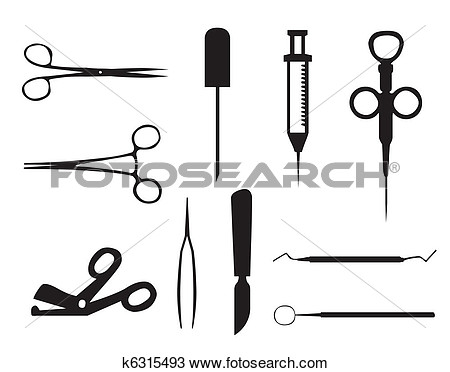 Clipart   Medical Instruments  Fotosearch   Search Clip Art